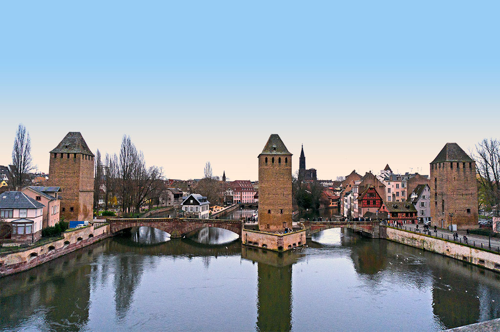 Pont Couverts, Strasbourg