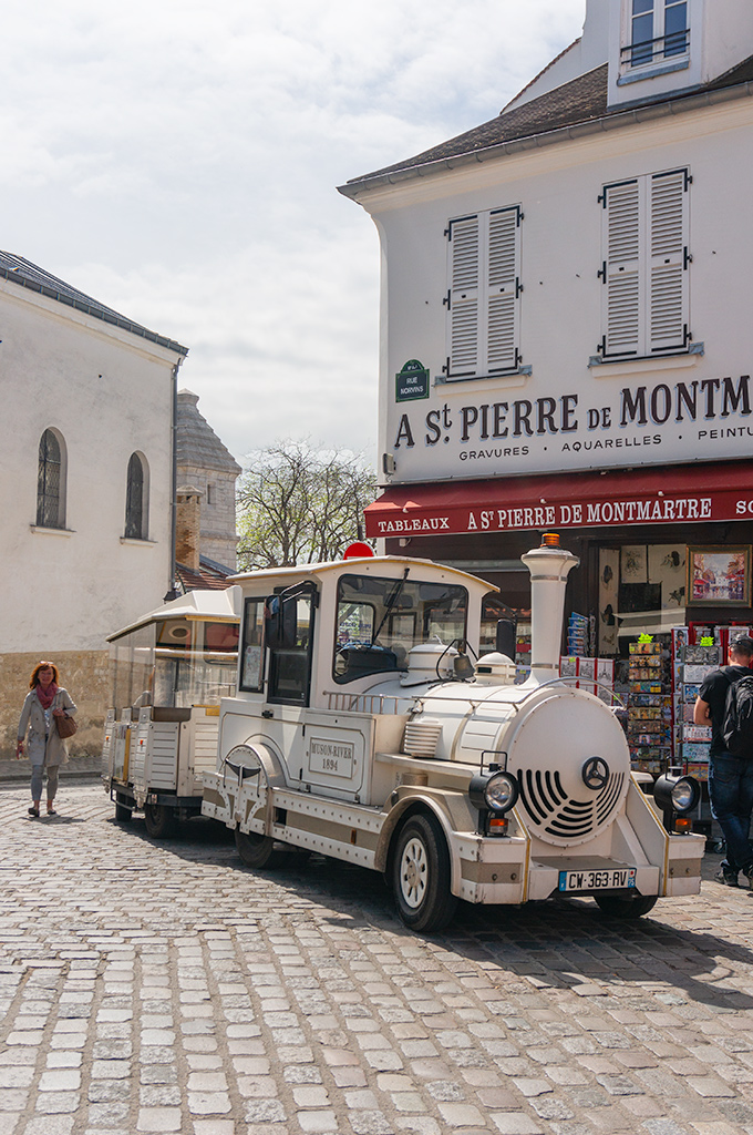 Le Petit Train du Montmartre