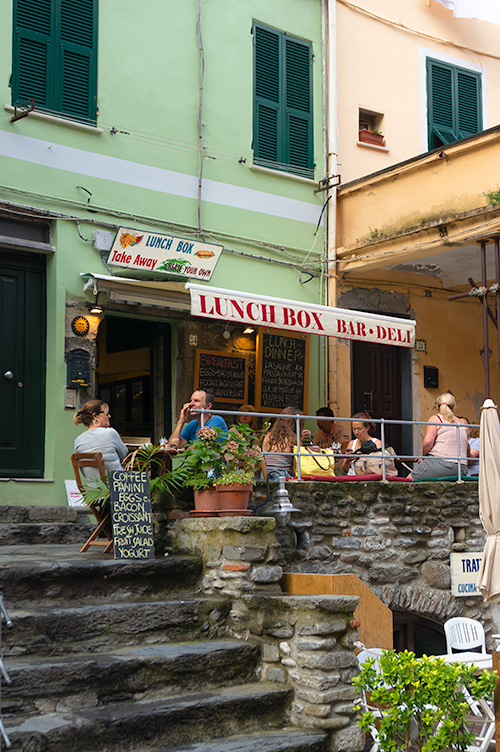Lunch Box, Vernazza