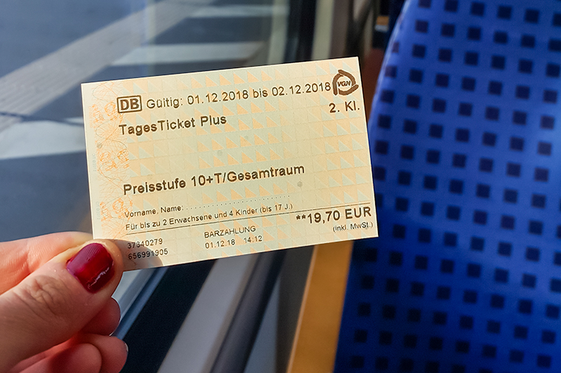 Tages Ticket Plus VGN
